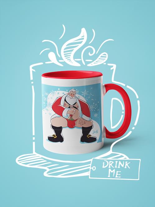 Mug / Christmas - Santa