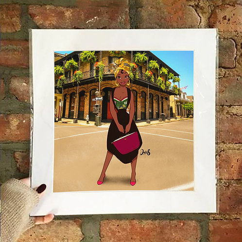 Poster / Street Fashion - Tiana