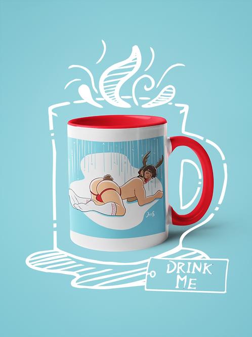 Mug / Christmas - Rudolph