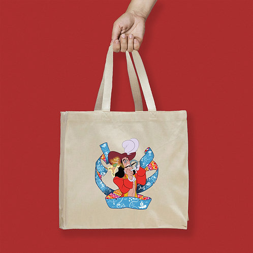 Tote Bag / Villains - Captain Hook