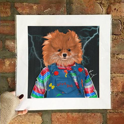 Poster / Petloween - Chucky