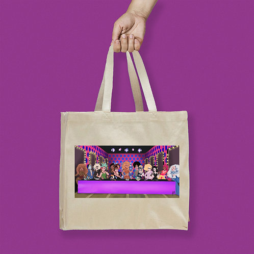 Tote Bag / Draglam - Category is... Last Supper