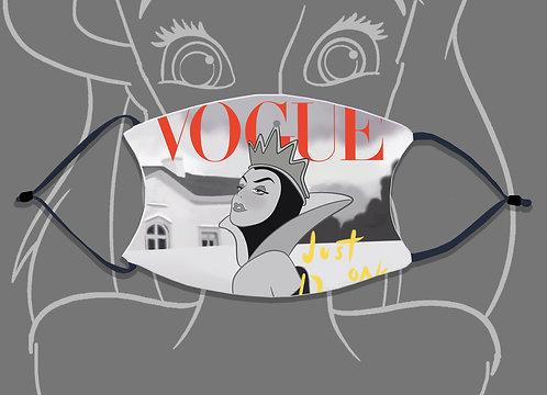 Face Mask / Magazines - Vogue Queen