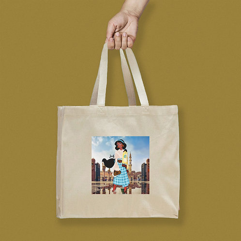 Tote Bag / Street Fashion - Jasmine