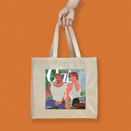 Tote Bag / Magazines - Out Ricky