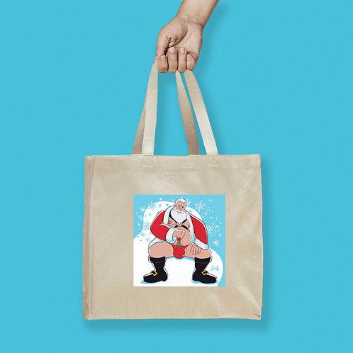 Tote Bag / Christmas - Santa