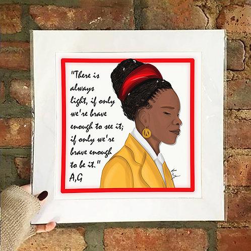Poster / Women's Empowerment - Amanda Gorman