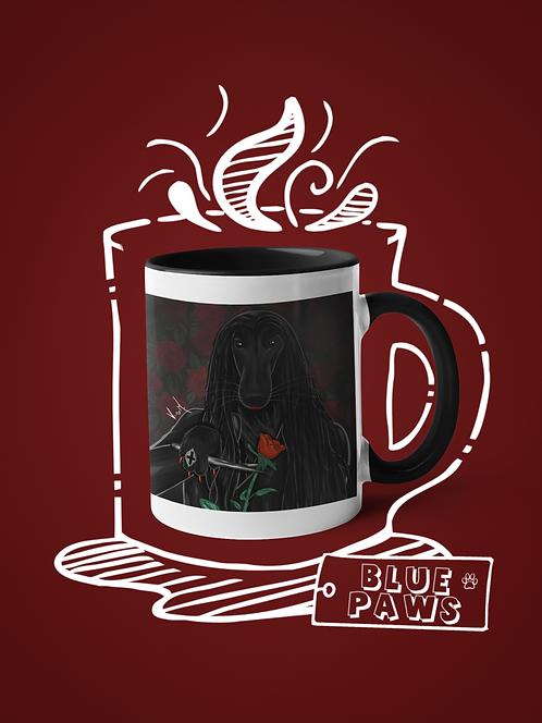 Mug / Petloween - Afghicia Addams