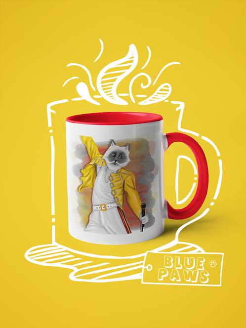Mug / Pop Tails - Freddie Miaurcury
