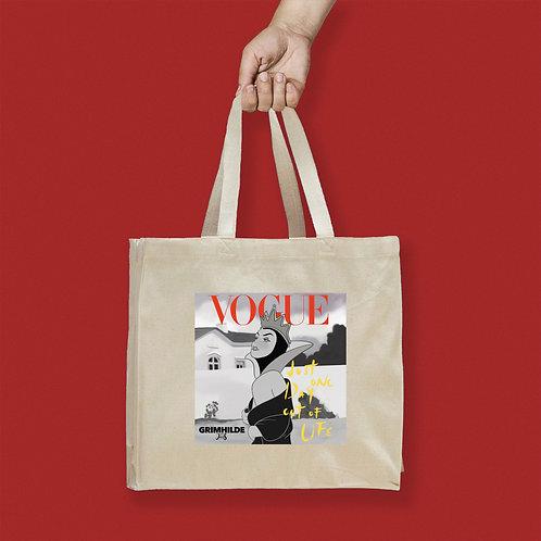 Tote Bag / Magazines - Vogue Queen