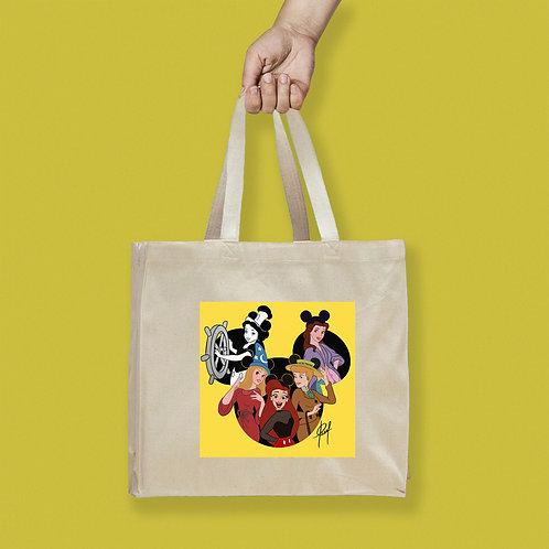 Tote Bag / Special Edition - Mickey Princesses