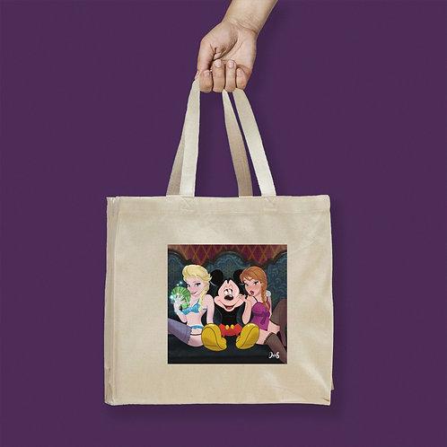 Tote Bag / Special Edition - Frozen & Mickey