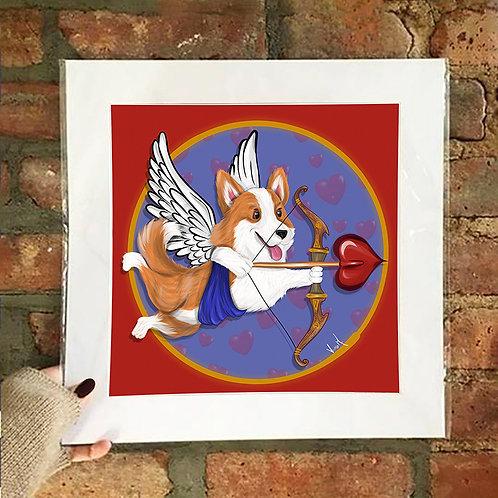 Poster / Special Edition - Cupid Corgi