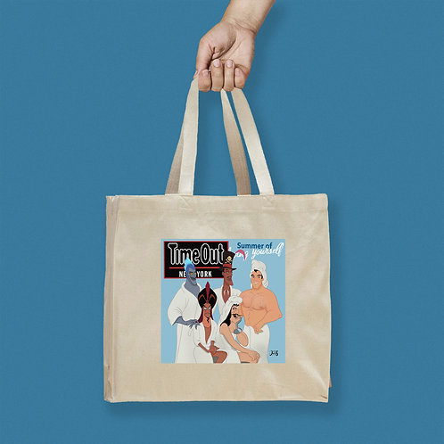Tote Bag / Magazines - TimeOut Queer Eye