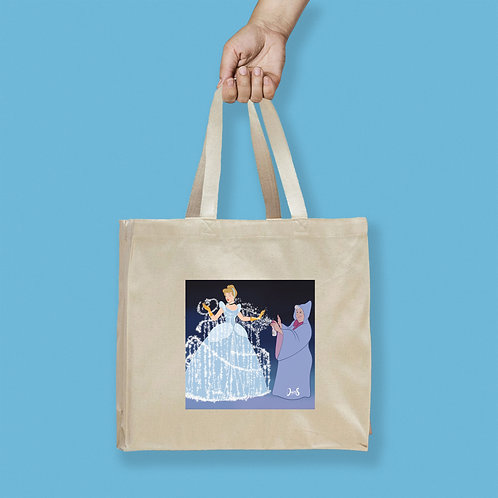 Tote Bag / Queerantine - Cinderella