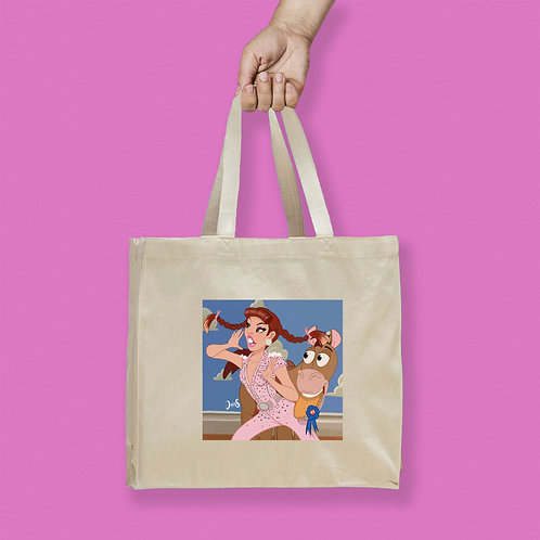 Tote Bag / DraGlam - Miz Cracker