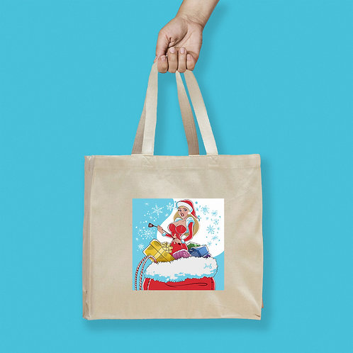 Tote Bag / Christmas - Ms. Claus