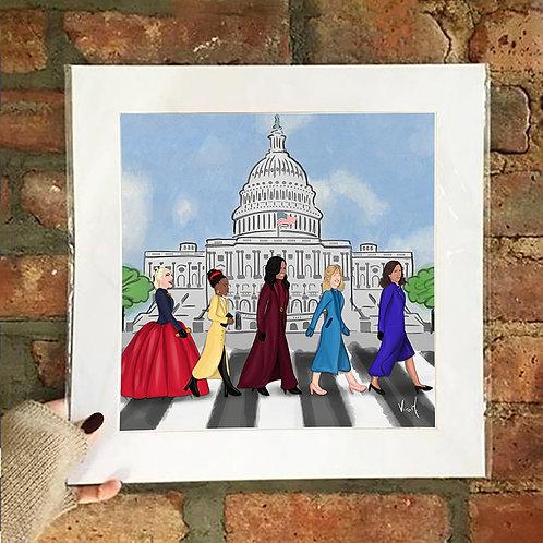 Poster / Women's Empowerment - Capitol on Heels