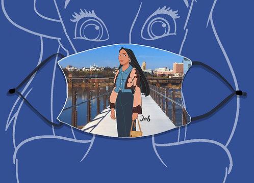 Face Mask / Street Fashion - Pocahontas
