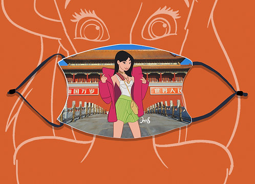 Face Mask / Street Fashion - Mulan