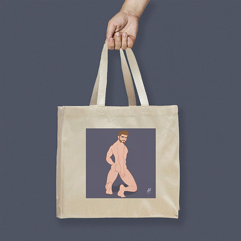 Tote Bag / Censored - Blondy Male