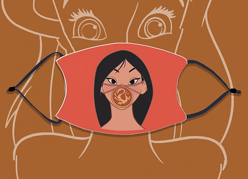 Face Mask / Queerantine - Mask Mulan