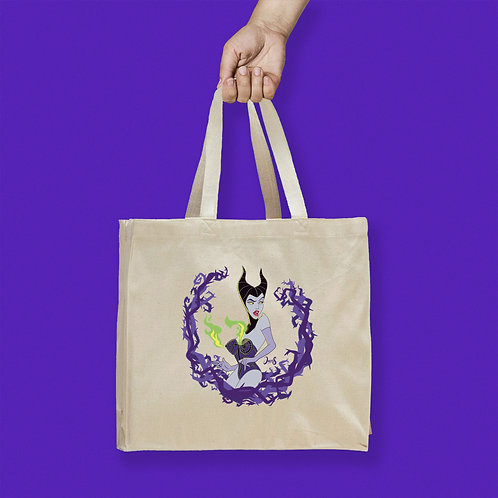 Tote Bag / Villains - Maleficent