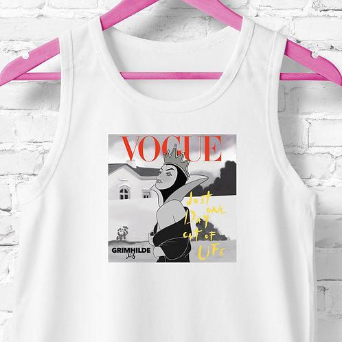 Unisex Tank Top / Magazines - Vogue Queen