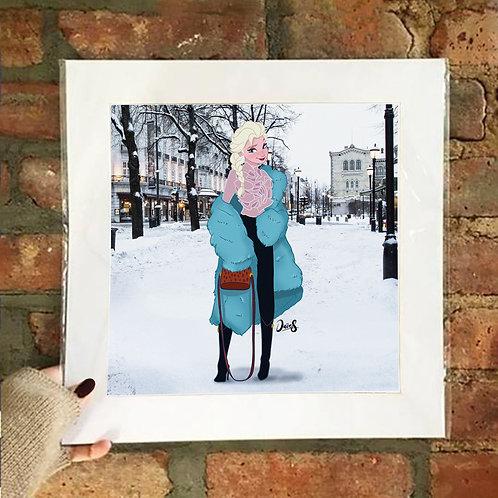 Poster / Street Fashion - Elsa