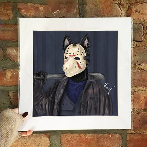 Poster / Petloween - Jason