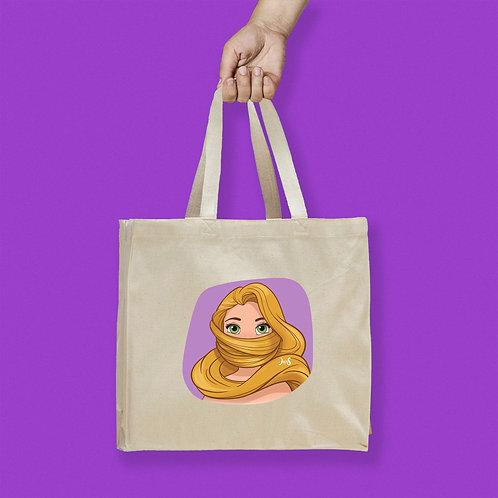 Tote Bag / Queerantine - Mask Rapunzel