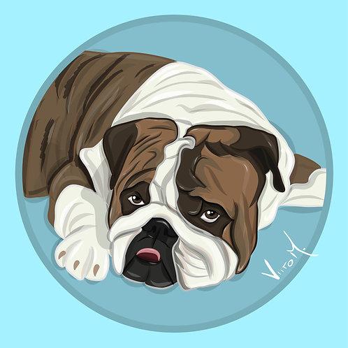 Custom Pet Portrait / One (1) Pet