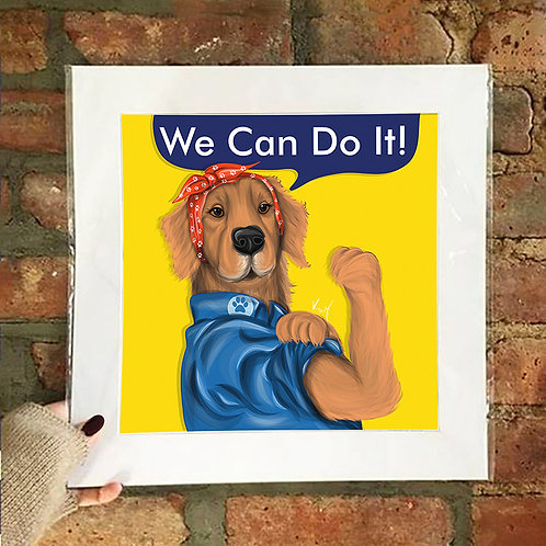 Poster / Special Edition - We Can Do It!