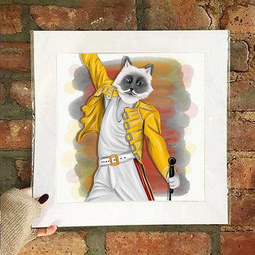 Poster / Pop Tails - Freddie Miaurcury