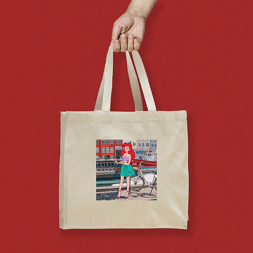 Tote Bag / Street Fashion - Ariel