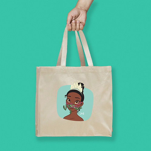 Tote Bag / Queerantine - Mask Tiana