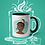 Thumbnail: Mug / Queerantine - Mask Tiana