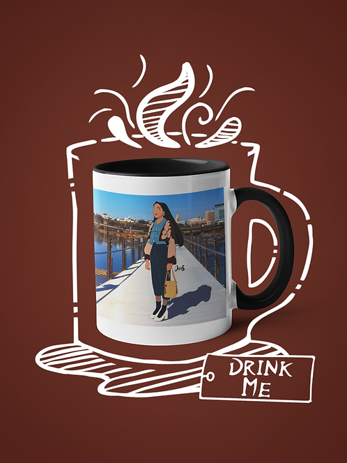 Mug / Street Fashion - Pocahontas
