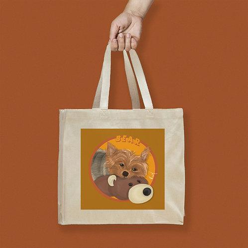 Tote Bag / Custom Pet Portrait