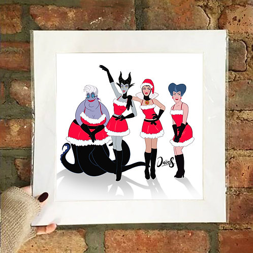 Poster / Christmas - Mean Villains