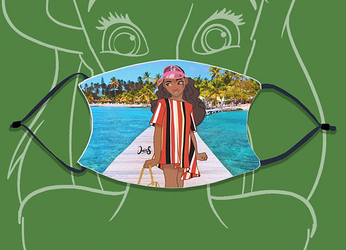 Face Mask / Street Fashion - Moana