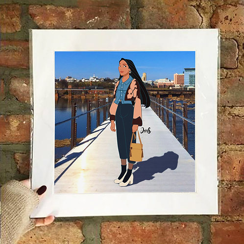 Poster / Street Fashion - Pocahontas