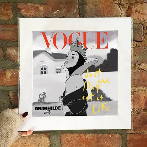 Poster / Magazines - Vogue Queen