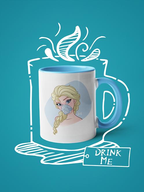 Mug / Queerantine - Mask Elsa