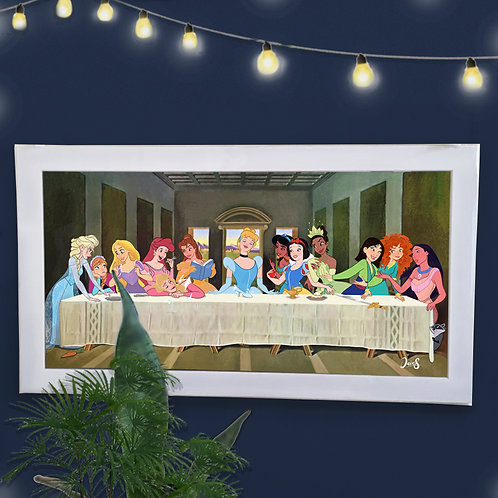 Poster / Special Edition - Last Supper Princesses