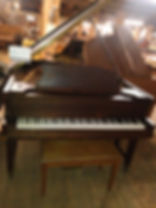 used 1920 Weber player grand piano