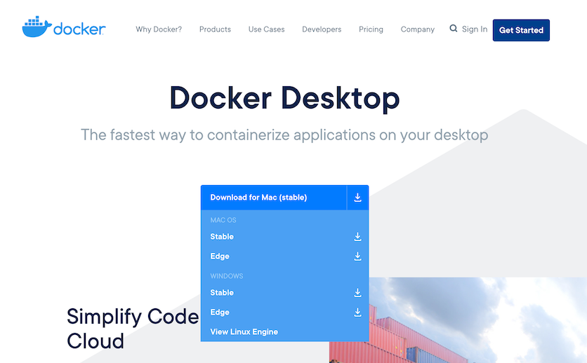 docker download