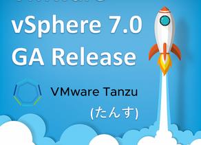 vSphere 7.0 GAリリース