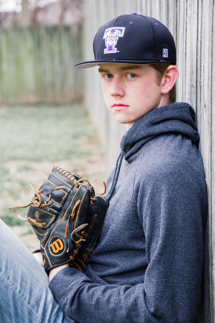 Springfield, missouri baseball senior photo
