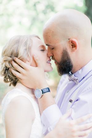 Wedding, Springfield, Missouri, Kiss